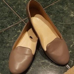 Cato 8M Ladies Flats Tan